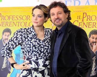 Laura Chiatti e il Professor Cenerentolo
