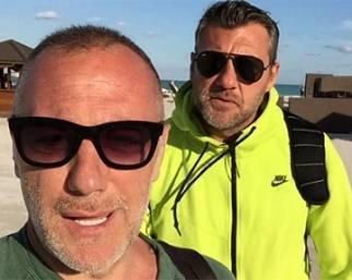 Bobo Vieri e Gianluca Vacchi, splendida Miami
