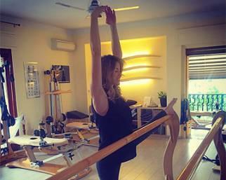 Elena Santarelli, al nono mese è sempre Gyrotonic