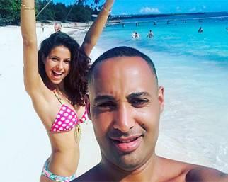 Mariana Rodriguez, ai Caraibi con fidanzato e amico