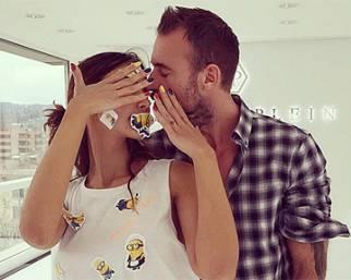 Madalina Ghenea e Philipp Plein, baci di passione