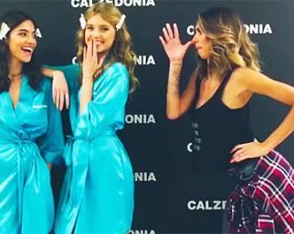 Melissa Satta al Calzedonia Summer Show 2016 si diverte