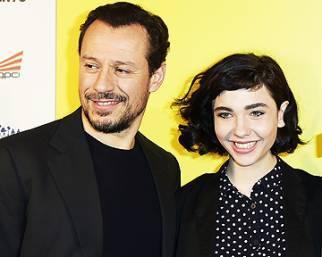 Stefano Accorsi e Matilda De Angelis per 'Veloce come il vento'