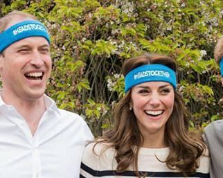 Kate Middleton, ridarella incontenibile