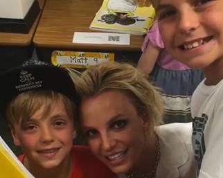Britney Spears scrive una lettera ai figli: 'Siete i miei capolavori'