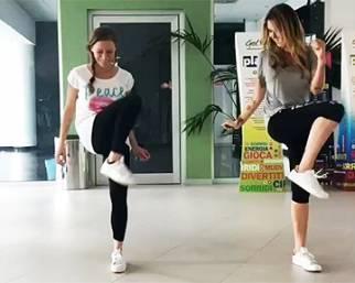 Karina Cascella e Guendalina Canessa, training in coppia