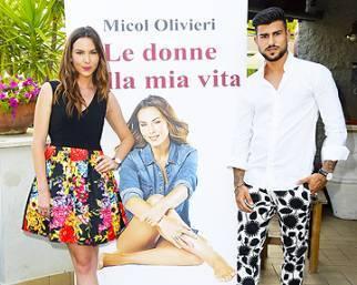 Micol Olivieri in festa per il suo libro