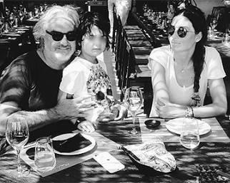 Elisabetta Gregoraci, vacanza a Mykonos in famiglia