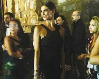 Melissa Satta radiosa sul red carpet