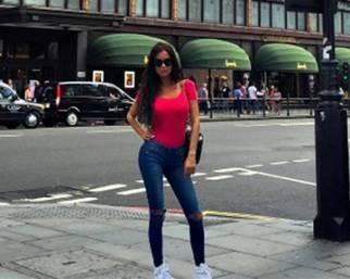 Antonella Mosetti a Londra con Gennaro