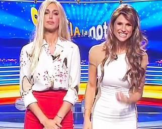 Belen e Michelle, scambio di ruoli