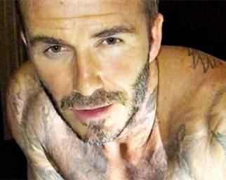 David Beckham, flessioni sul pianoforte