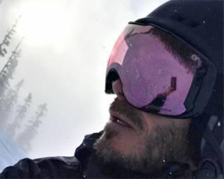 I Beckham sulla neve