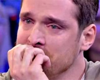 Leonardo Tumiotto in lacrime dalla D'Urso