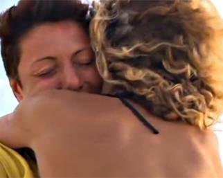 Eva Grimaldi e Imma Battaglia: cinque anni d'amore