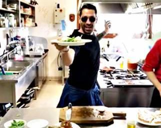 Marco Borriello cuoco ballerino, il video è virale