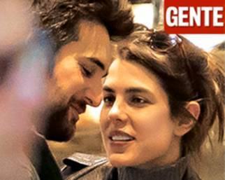 Charlotte Casiraghi paparazzata con Dimitri