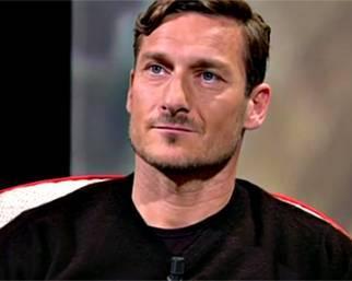 Francesco Totti si commuove per i figli