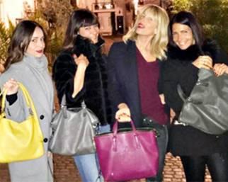 Alessia Marcuzzi a Londra dopo l'attentato