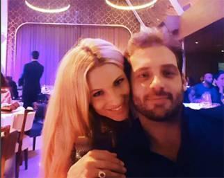 Michelle Hunziker e Tomaso Trussardi al Billionaire