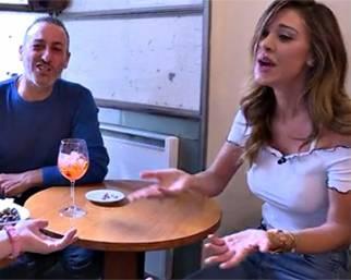Belen Rodriguez incontra una sua haters