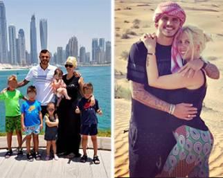 Wanda Mara e Mauro Icardi, vacanza da nababbi a Dubai