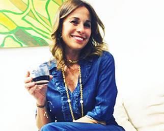 Cristina Parodi a 'Domenica In'