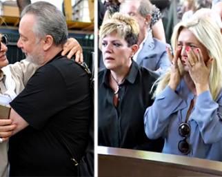 Mara Venier e gli altri vip al funerale di Paolo Limiti