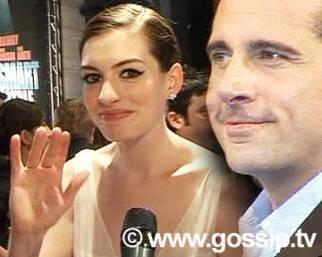 Steve Carell e Anne Hathaway, che coppia!