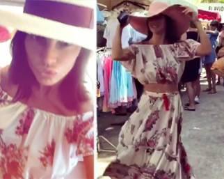 Claudia Galanti, shopping low cost