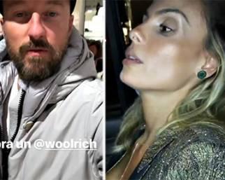 Vacanze a New York per Facchinetti e la moglie