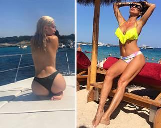 Antonella Mosetti e la figlia Asia, estate da star!