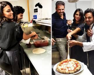 Claudia Galanti, una pizzaiola da sballo