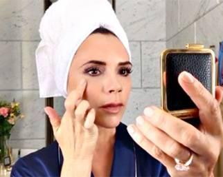 Victoria Beckham, scuola di make up