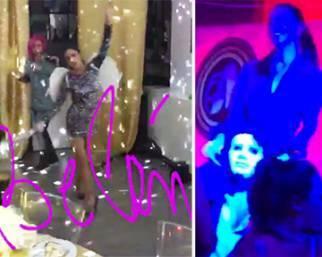 Belen Rodriguez, mega party per i 33 anni