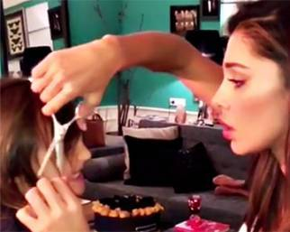 Belen Rodriguez, hair stylist di Santiago