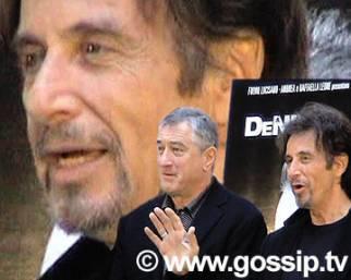De Niro e Pacino, attori senza regole