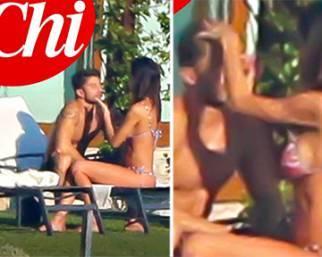 Belen Rodriguez, weekend romantico con Andrea Iannone