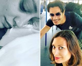 Margareth Madè e Giuseppe Zeno, è nata Angelica