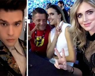 Fedez e Ferragni ad X Factor con Lapo