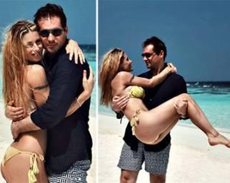 Michelle e Tomaso in love alle Maldive