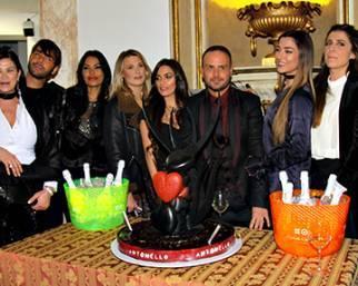 Vip al compleanno di Antonello Lauretti