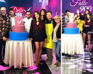 Caterina Balivo festeggia 900 puntate di 'Detto Fatto'