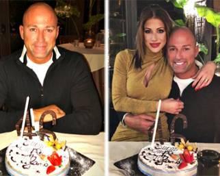Stefano Bettarini, compleanno d'amore con Nicoletta