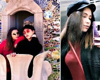 Aurora Ramazzotti e Sara Daniele, vacanza  a Barcellona