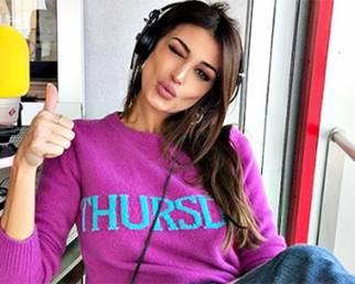 Cristina Buccino, conduttrice in radio, modella da urlo