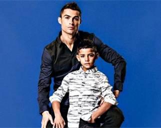 Cristiano Ronaldo e Cristiano Jr., sempre più uguali