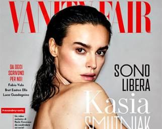 Kasia Smutniak nuda in copertina