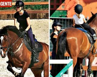 Carlotta Mantovan a cavallo: la morte di Frizzi non ferma la vita