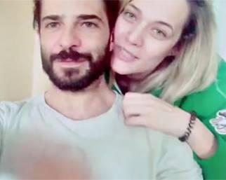 Marco Bocci in ospedale a Perugia con Laura Chiatti